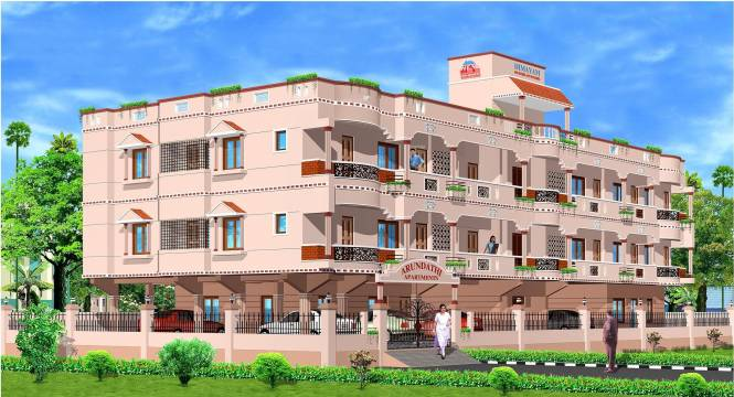 Himayam Arundathi Apartments Elevation