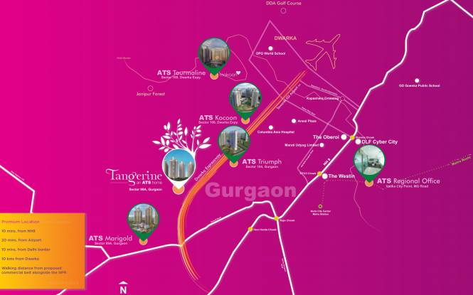 ATS Grandstand Location Plan