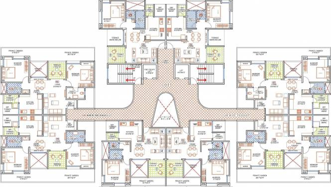 F5 Nandini Spring Fields Cluster Plan