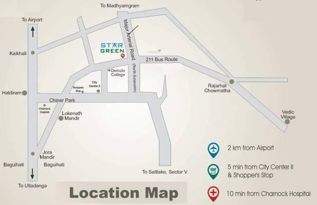 Star Star Green Location Plan