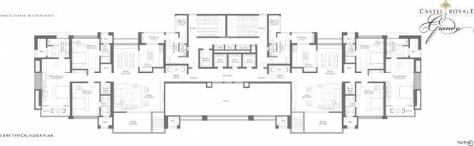 ABIL Castel Royale Grande Cluster Plan