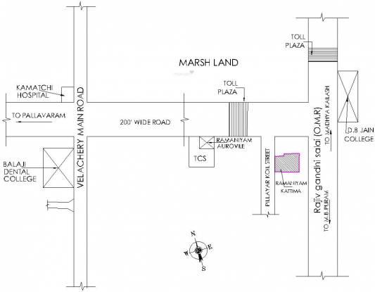 Ramaniyam Kattima Location Plan