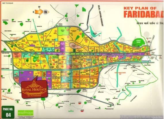 Ansal Royal Heritage Location Plan