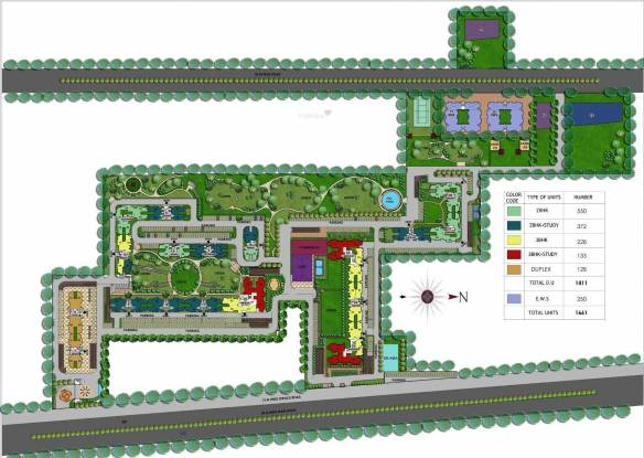 Ansal Royal Heritage Site Plan