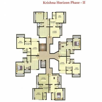 Raj Shree Nirman Krishna Horizon Cluster Plan