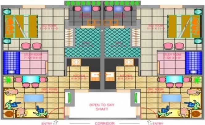 Trehan Royal Court Cluster Plan