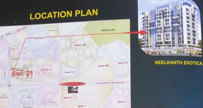 Neelkanth Exotica Location Plan