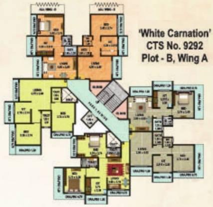 GBK Vishwajeet Meadows Cluster Plan