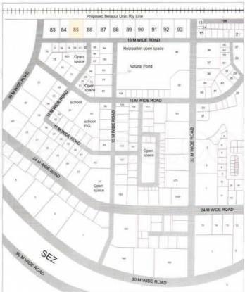 JHV Hira Laxmi Heights Location Plan