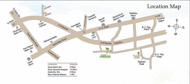 Rupayan Su Casa Wood Location Plan