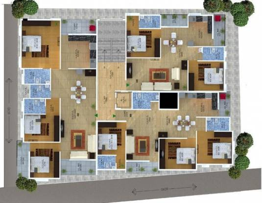 Neo Heights Aster Cluster Plan