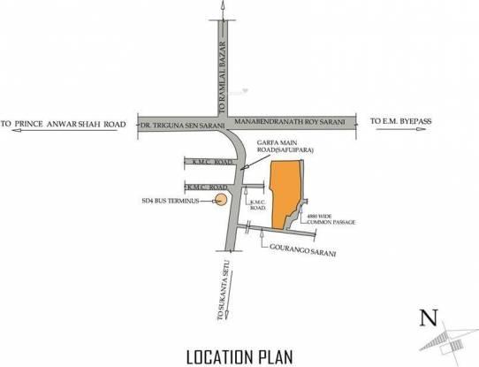 Avani Estates Location Plan