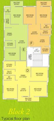 Biswanath Mrinalini Residency Cluster Plan