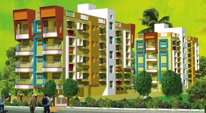Biswanath Mrinalini Residency Elevation