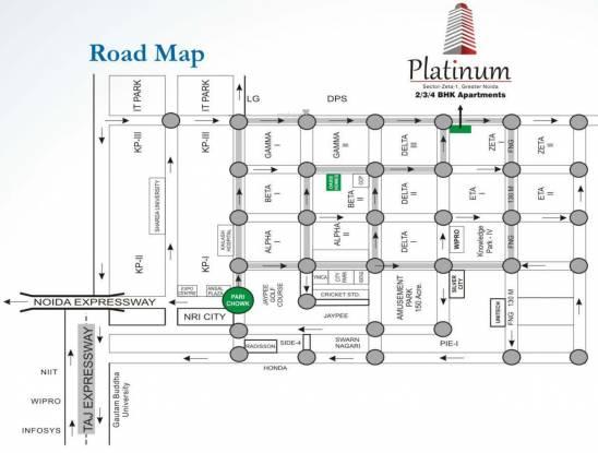 Ace Platinum Zeta 1 Location Plan
