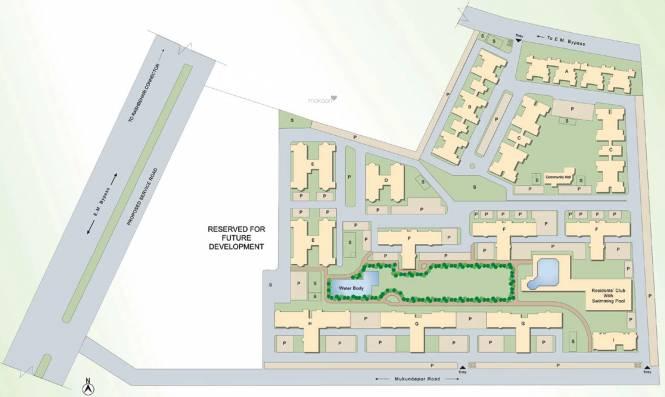 Bengal Peerless Avidipta Site Plan