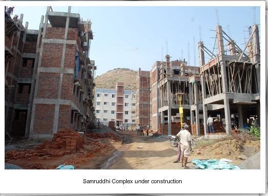 Poddar Samruddhi Complex Construction Status