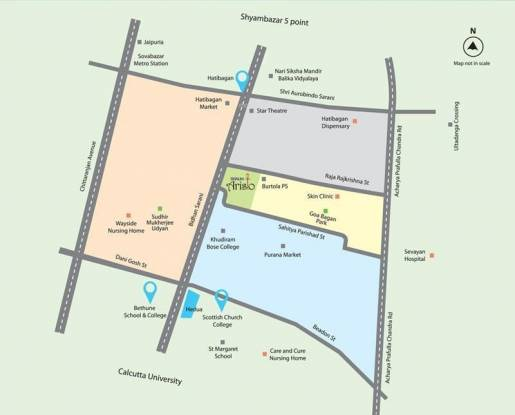 Signum Aristo Location Plan