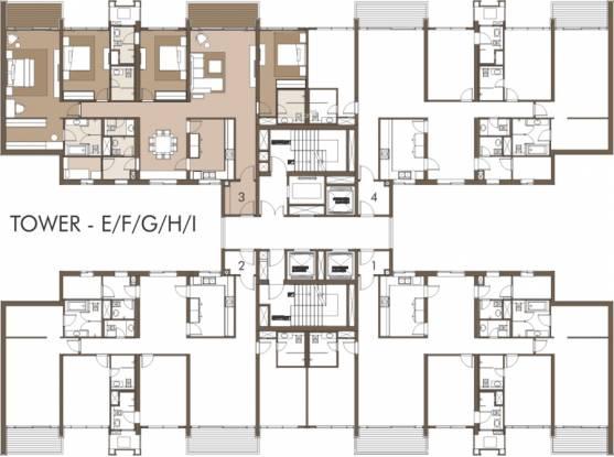 Panchshil Towers Cluster Plan