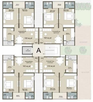 Rajyash Sahaj Sapphire Cluster Plan