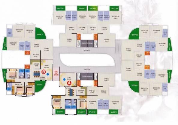 Ideal Einion Carnation Cluster Plan