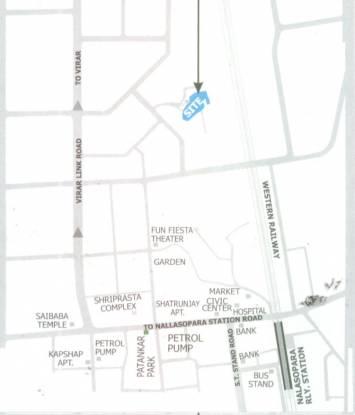 DGS Sheetal Deep Location Plan