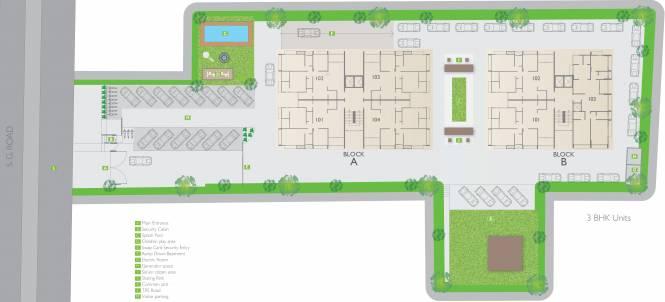 Siddhi Aarohi Agha Site Plan