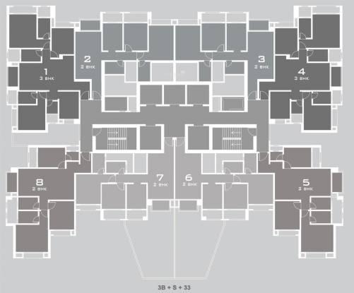 Hiranandani Tiana Cluster Plan