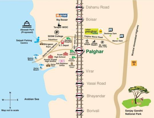 VBHC Vaibhav Greens Location Plan