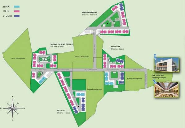 VBHC Vaibhav Greens Master Plan