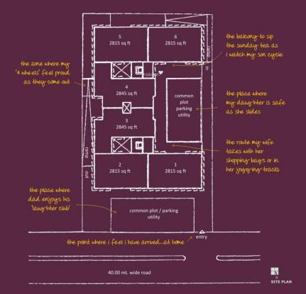 Synthesis Altius Living Site Plan