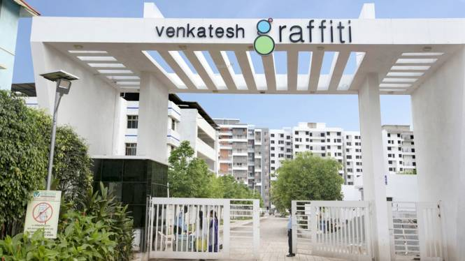 Venkatesh Graffiti Elevation
