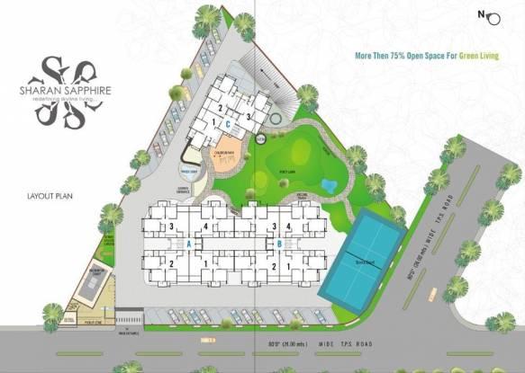 Rushabhdev Sharan Sapphire Layout Plan