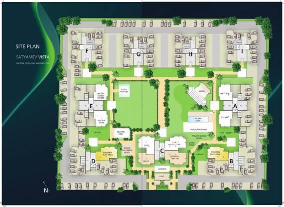Tithi Satyamev Vista Site Plan