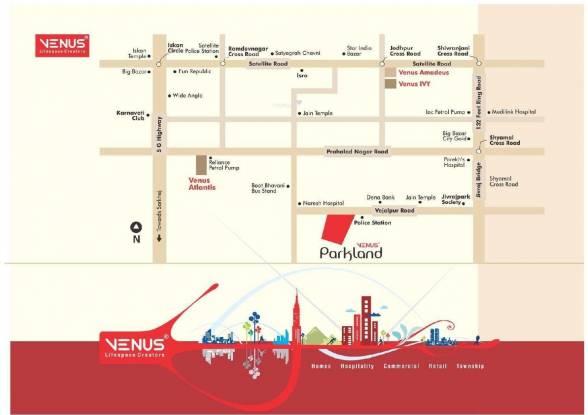 Venus Parkland Location Plan