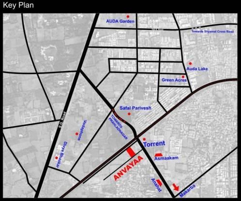 Nila Anvayaa Location Plan