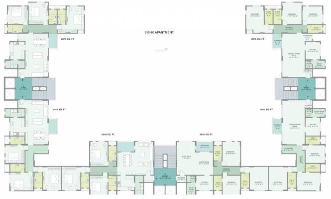 Gala Gardenia Cluster Plan