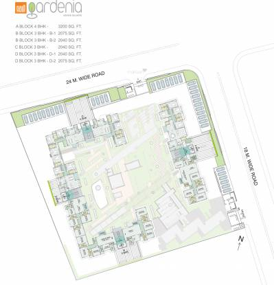 Gala Gardenia Site Plan