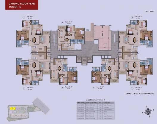 Purva Westend Cluster Plan