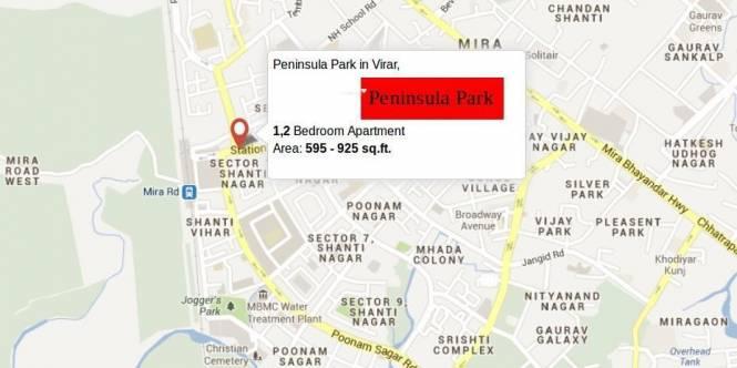 Parikh Peninsula Park Location Plan