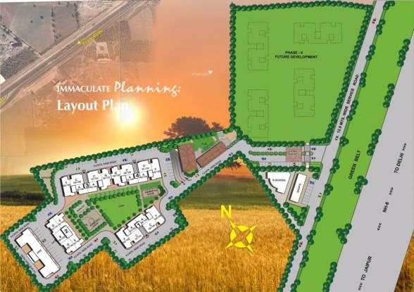 Vipul Pratham Apartments Layout Plan