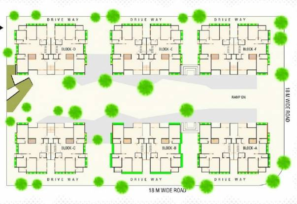 Shree Rang Aroma Layout Plan
