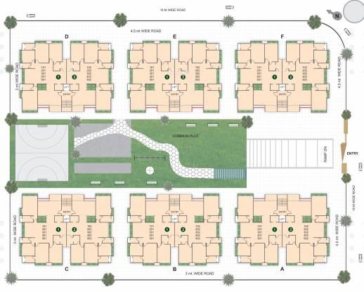 Shree Rang Aroma Site Plan