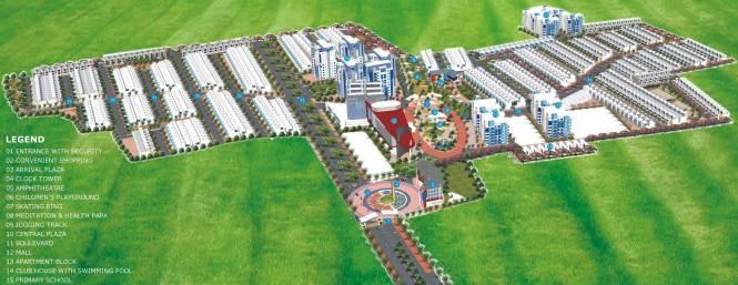 Ansal Town Villa Layout Plan
