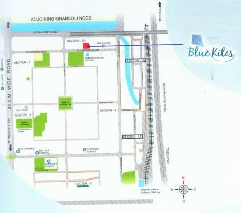 Agrawal Blue Kites Location Plan