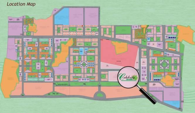 Shri Celebrity Greens Location Plan