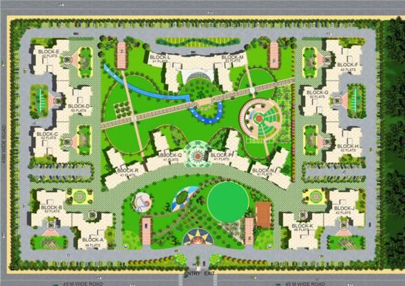 Shri Celebrity Greens Site Plan