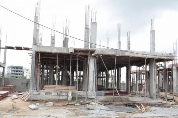 Sri Fortune Indra Villae Construction Status