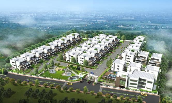 Sri Fortune Indra Villae Layout Plan