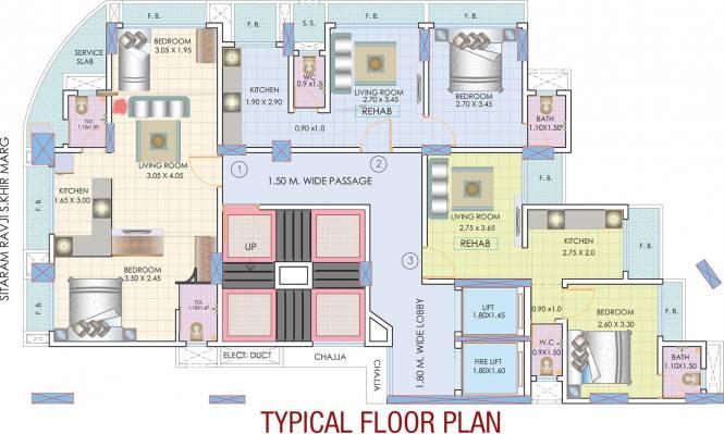 Sumit Abode II Cluster Plan